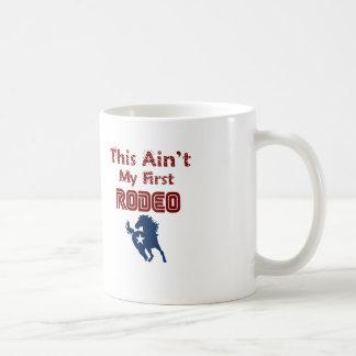 Este não é meu primeiro rodeio caneca de café