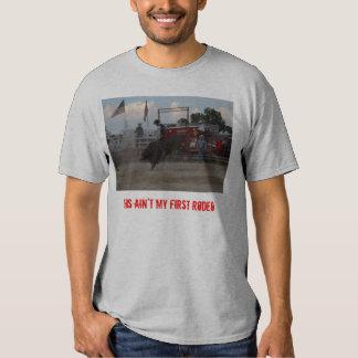 Este não é meu primeiro rodeio t-shirts