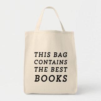 Este saco contem os melhores livros bolsa para compra