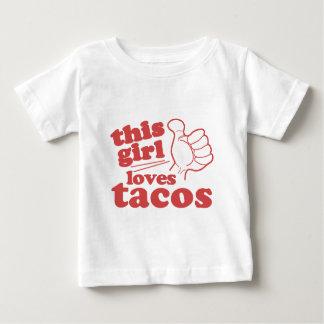 Este Tacos dos amores da cara ou da menina Tshirts
