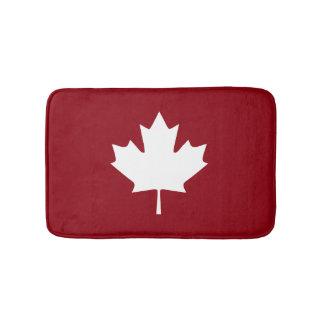 Esteira de banho da folha de bordo de Canadá Tapete De Banheiro