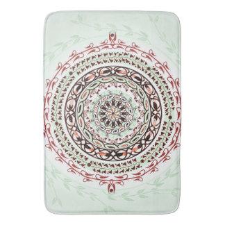 Esteira de banho da mandala da gema do jardim tapete de banheiro