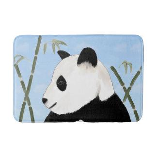 Esteira de banho da panda gigante e do bambu da tapete de banheiro