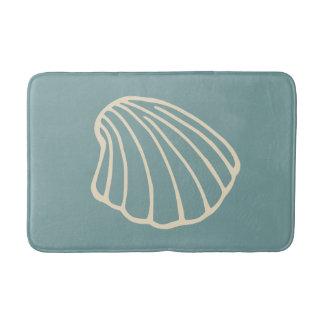 Esteira de banho do tapete do banheiro do mar do