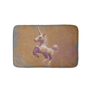 Esteira de banho do unicórnio (lavanda do metal) tapete de banheiro