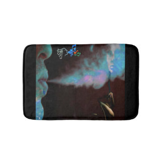 esteira de banho mágica do fumo tapete de banheiro
