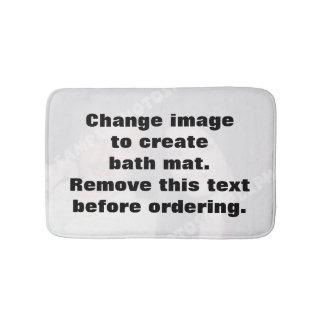 Esteira de banho personalizada da foto. Faça seus Tapete De Banheiro