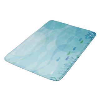 Esteiras de banho subaquáticas das sombras tapete de banheiro