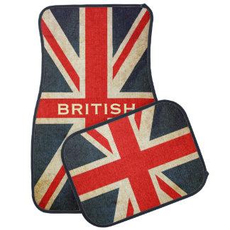 Esteiras feitas sob encomenda britânicas finos do  tapete para carro