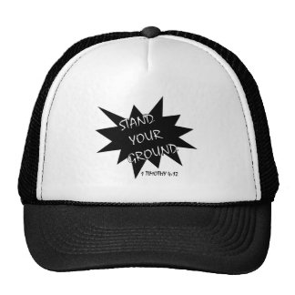 Esteja seu chapéu à terra boné