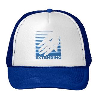 Estendendo um chapéu da mão amiga boné