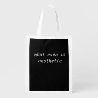 estético sacola ecológica para supermercado
