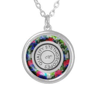 Estetoscópio da qualidade floral bijuterias personalizadas
