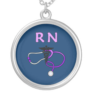Estetoscópio do RN Colar Com Pendente Redondo