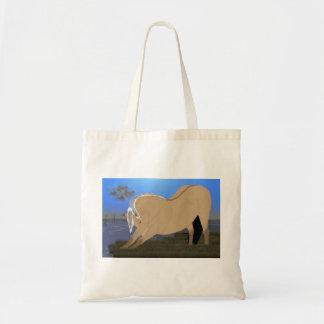 Esticão norueguês do cavalo do fiorde bolsa tote