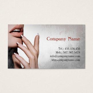Estilista do prego/cartão de visita especialista cartão de visitas