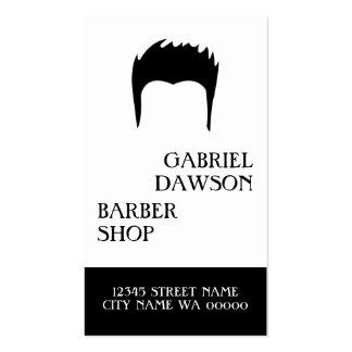 Estilista moderno do armário do cabelo da cartão de visita