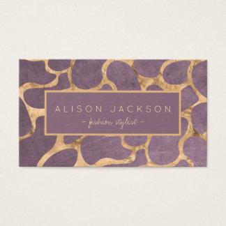 Estilista pessoal do papel de parede sofisticado cartão de visitas