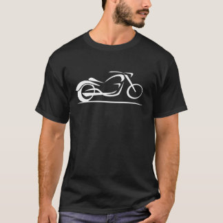 estilo 2 do cruzador no branco t-shirt