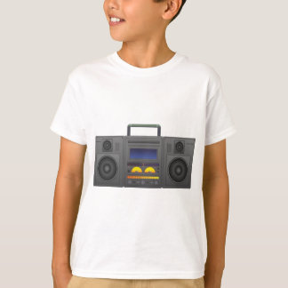estilo Boombox de Hip Hop dos anos 80 Camiseta