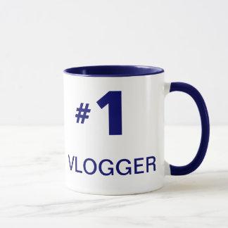 Estilo (canhoto) 2 da caneca de #1 Vlogger