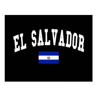 Estilo da faculdade de El Salvador Cartoes Postais