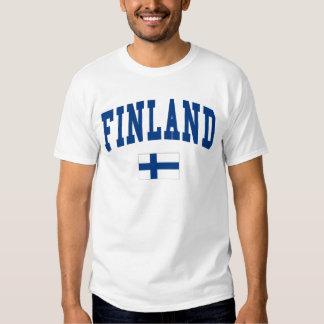 Estilo da faculdade de Finlandia Tshirt