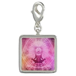 Estilo da ioga da meditação photo charms