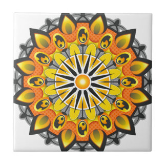Estilo da mandala azulejo de cerâmica