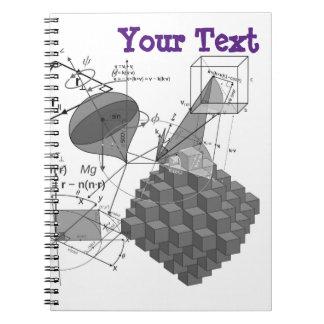 Estilo da matemática caderno