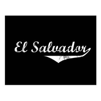 Estilo da revolução de El Salvador Cartões Postais