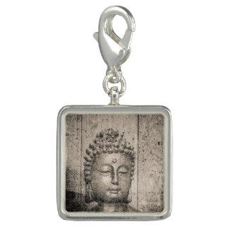 Estilo de Buddha do vintage Charms Com Foto