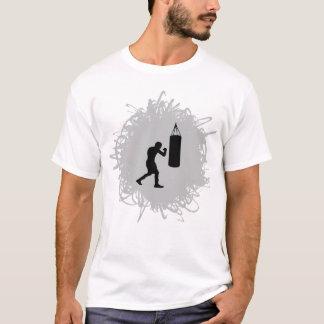 Estilo de encaixotamento do Scribble Camiseta