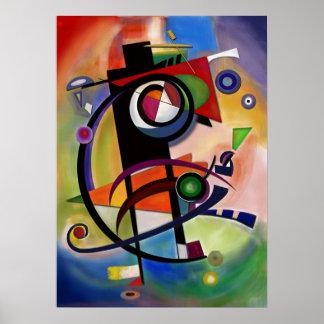 Estilo de Kandinsky Pôster