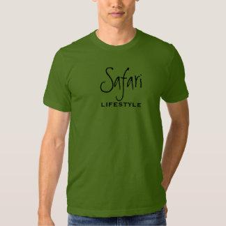 Estilo de vida do safari tshirt