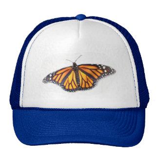 Estilo do chapéu do camionista da borboleta de boné