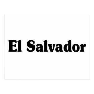 Estilo do clássico de El Salvador Cartoes Postais