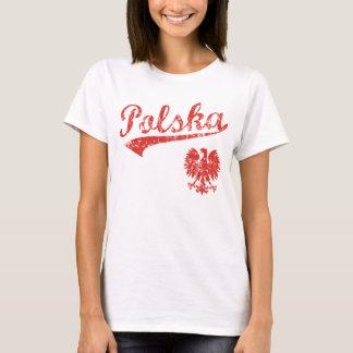Estilo do esporte de Polska Eagle Camiseta