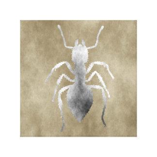 Estilo do Grunge da formiga Impressão Em Tela