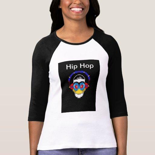 Estilo do hip-hop do hyhdro do DJ T-shirt