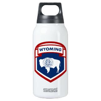 Estilo do protetor da crista da bandeira do estado garrafa de água térmica