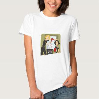 Estilo do salão de beleza t-shirt