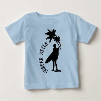 Estilo do surfista camiseta