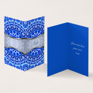 Estilo dobrado G403 de Mehndi da mandala do cartão