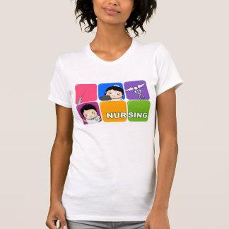 Estilo dos cuidados t-shirt