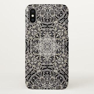 estilo étnico G419 de Mehndi do caso do iPhone X Capa Para iPhone X