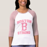 Estilo forte do Grunge de Boston B T-shirt