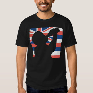 Estilo havaiano bebendo t-shirts