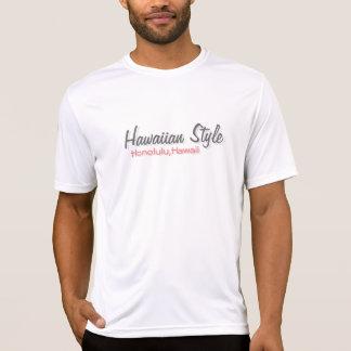 Estilo havaiano tshirts