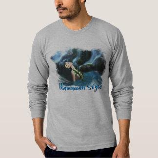 Estilo havaiano camisetas